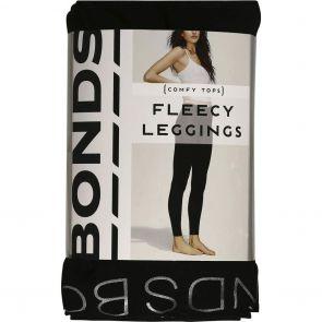 Bonds Fleece Leggings L79542 Black Multi-Buy