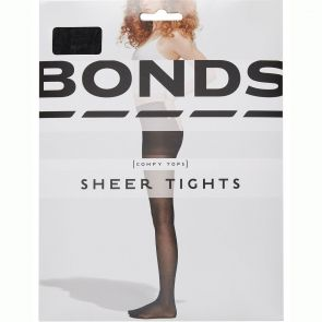 Bonds 15D Sheer Tights L79571 Black Multi-Buy