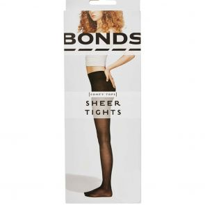 Bonds Sheer Tights L79590 Black Multi-Buy