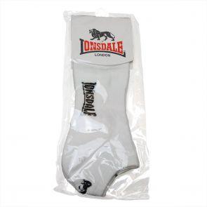Lonsdale Logo Socks LA4523SO White