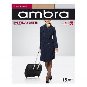 Ambra Qantas Everyday Sheer Tights QANESHPH Natural Multi-Buy
