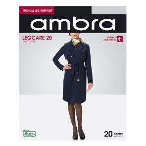 Ambra Qantas Legcare 20 Support Tights QAN20PH Black Multi-Buy