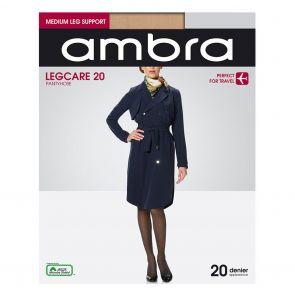 Ambra Qantas Legcare 20 Support Tights QAN20PH Natural Multi-Buy