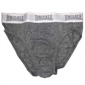 Lonsdale Hogan Hipster Brief LA2500U Grey Marle