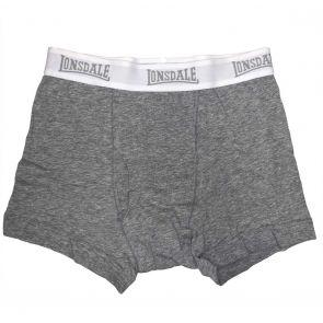 Lonsdale Basic Cotton Trunk LA2501U Grey Marle