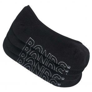 Bonds Womens Active Logo Light 4-Pack LYAE4N Black