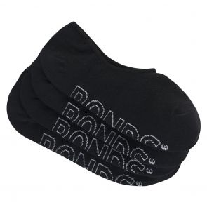 Bonds Womens Active Logo Light Sneaker 4-Pack LYAN4N Black
