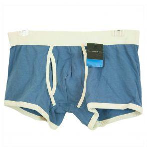 Macpherson Man Cotton Low-Rise Trunk M49 Denim Blue