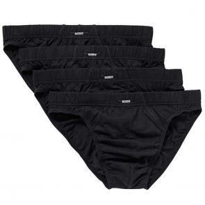 Bonds Action Hipster Brief 4 Pack M8OS4 Black