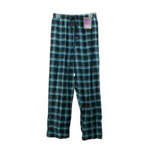 Mitch Dowd Cotton Pyjama Pants Q922P Black/Blue Check