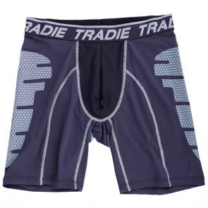 Tradie Tech Long Leg Trunk MJ1483SK Black / Charcoal