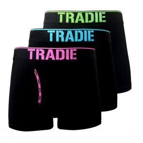 Tradie Men 3-Pack Fly Front Trunks MJ3368SK3 24 Hour