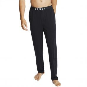 Bonds Comfy Livin Jersey Pants MXM9A Black