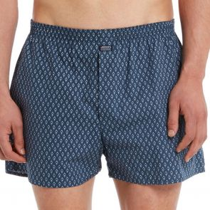 Jockey Woven Cotton Short MXNT1A Ocean Diamond