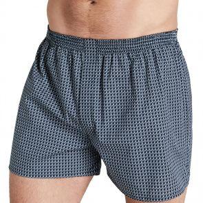 Jockey Woven Cotton Short MXNT1A Ocean Geo
