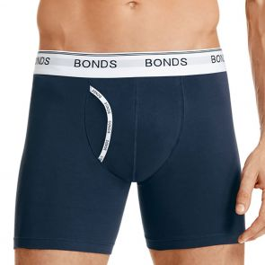 Bonds Guyfront Mid Trunk MY7WA Navy 100