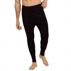 Holeproof Aircel Thermal Long John MYPY1A Black