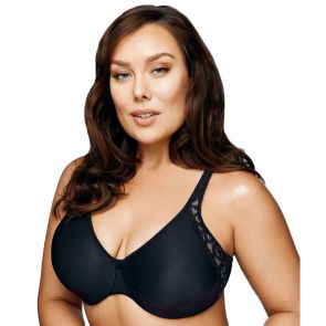 Playtex Side Support And Smoothing Minimser Y1250H Black/ Soft Taupe