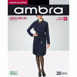 Ambra Qantas Legcare 20 Support Tights QAN20PH Black Multi-Buy