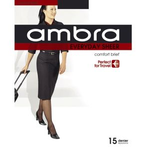 Ambra Qantas Everyday Sheer Tights QANESHPH Almost Black Multi-Buy
