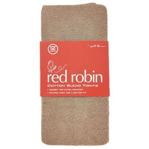 Red Robin Becky Cotton Tights R40181 Fawn