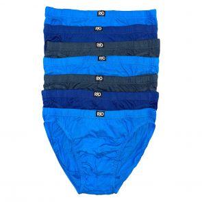 Rio Slim Fit Briefs 7-Pack MXKY7W Blue/Grey