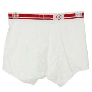 RISTEFSKY MACHEDA Boxer Brief White with Red Band