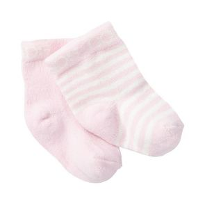 Bonds Baby Classic Bootee 2-Pack RYY92N Sweet Pink
