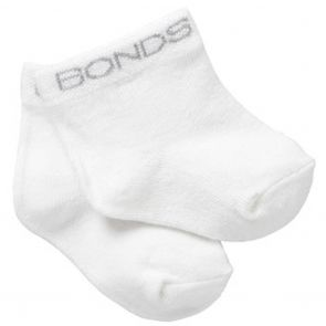 Bonds Baby Classic Bootee 2-Pack RYY92N White