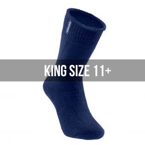 Explorer Original Cotton Blend King Size Socks S1130K Navy