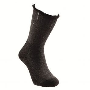 Holeproof Explorer Mens Wool Blend Young Marle Socks Charcoal S1140