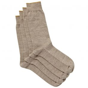 Jockey Soft Merino Wool 2PK S8317N Burley Brown