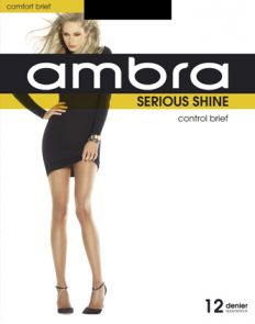 Ambra Serious Shine Control Brief Tights ASESHCON Natural Multi-Buy