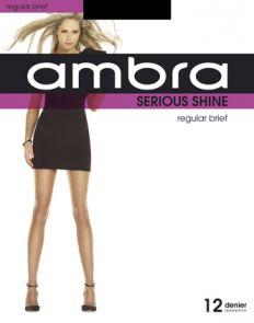 Ambra Serious Shine Regular Brief Tights ASESHREGB Natural Multi-Buy