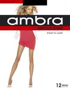 Ambra Serious Shine Sheer To Waist Tights ASESHSTW Natural Multi-Buy