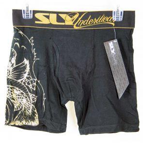 Sly Boxer Brief SLY1-RMI-PS Black