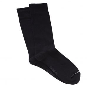 Bonds Mens Comfy Pillow Feet Crew SYPD2N Black