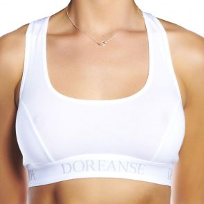 Doreanse Athlete Bra 14110 White