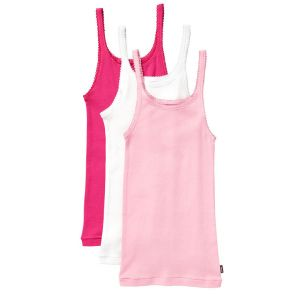 Bonds Girls Teena Singlet 3-Pack UYG43W Pink Pack