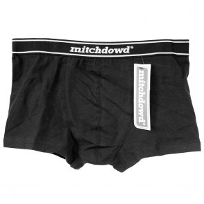 Mitch Dowd Fitted Hipster Trunk V26 Black
