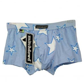 Mitch Dowd Powder Blue Starr Fitted Hipster V70 Blue Stars
