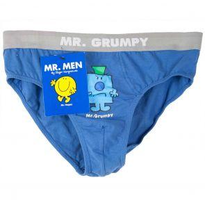 MR. MEN Mr. Grumpy Brief VG10 Navy