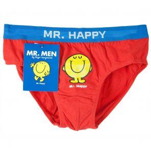 MR. MEN Mr. Happy Brief VG12 Red