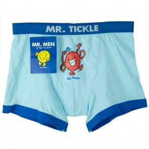 MR. MEN Mr. Tickle Boxer Brief VG5 Light Blue