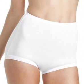 Bonds Cottontail Satin Touch Full Brief  W012 White