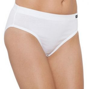 Bonds Cottontails With Extra Lycra Hi-Cut Brief W0M13H White