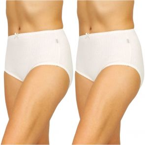 Hestia Heroes Full Brief 2 Pack W10072 Cream