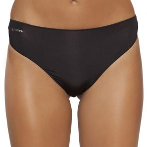 Jockey No Panty Line Promise Tactel G-String W8680D Black