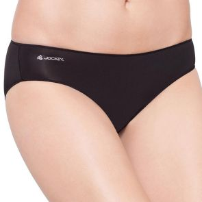 Jockey No Panty Line Promise Tactel Bikini Brief W8681D Black