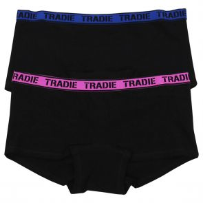 Tradie Lady 2 Pack Shortie WJ2096SL2 Focus